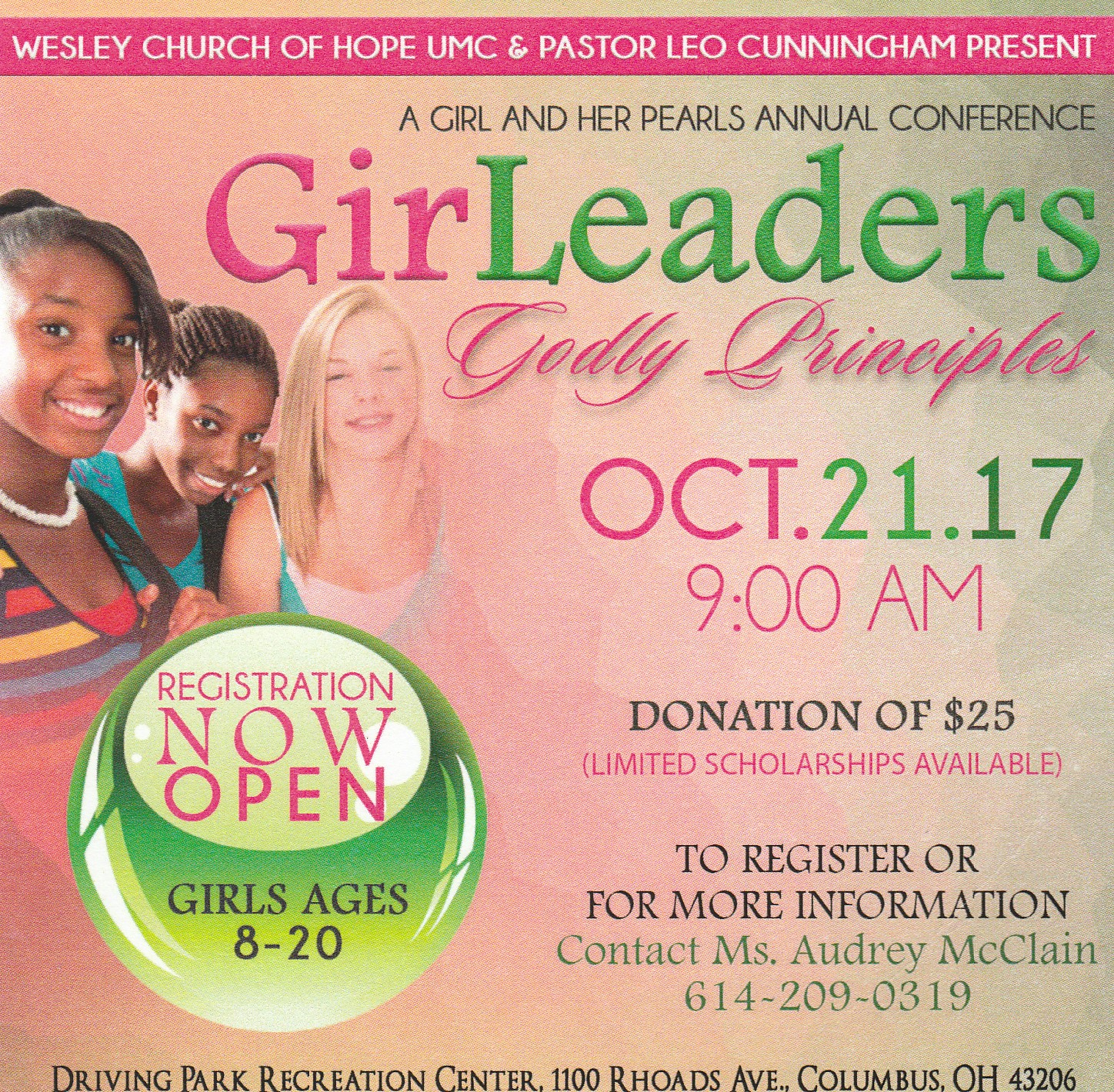 Girls and Pearls Annual Conference