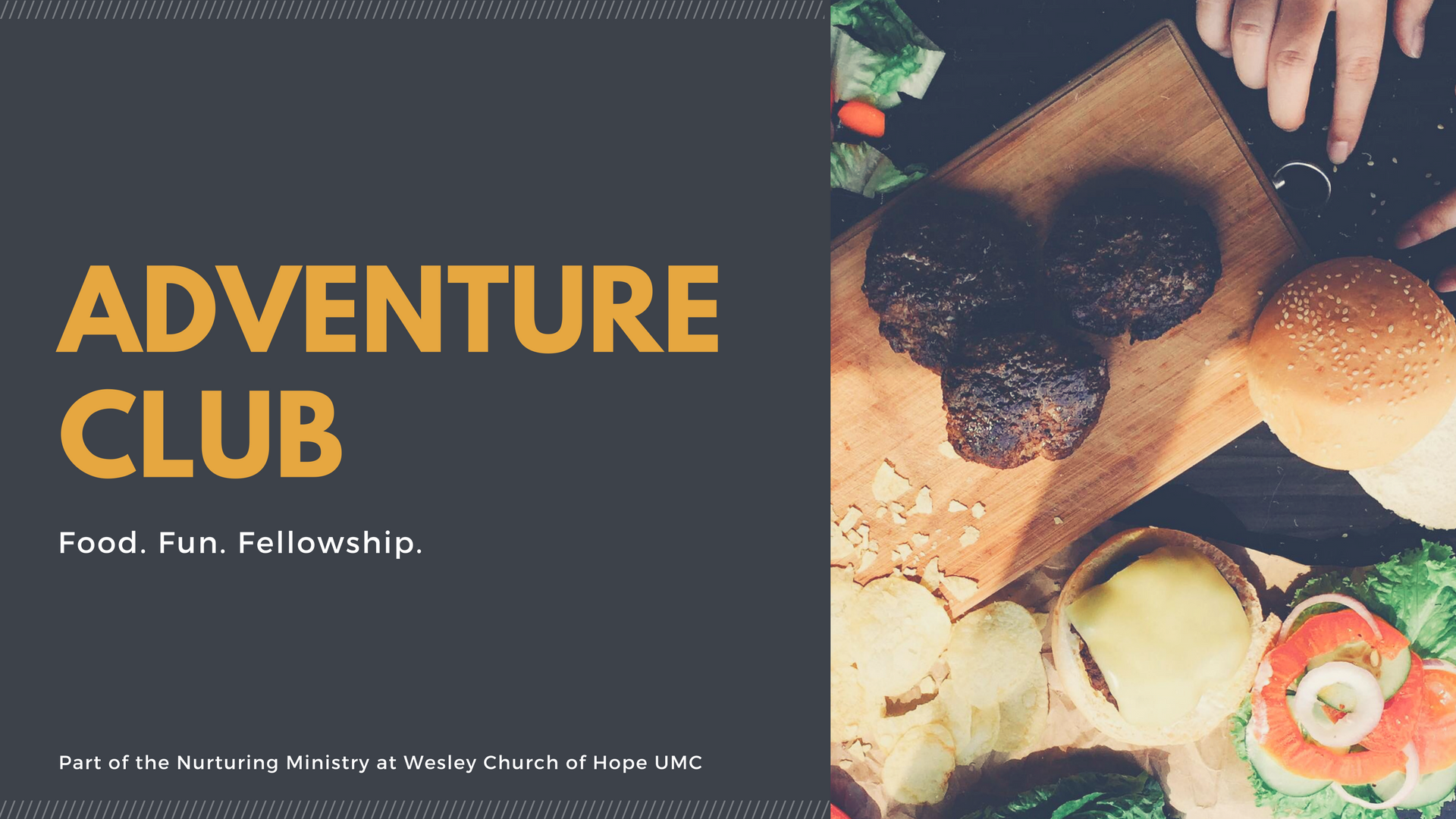 Adventure Club - Nurturing Ministry at Wesley Church of Hope