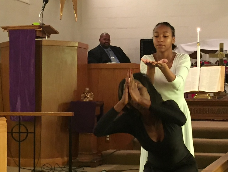 Liturgical Dance Ministry at Wesley Church of Hope UMC