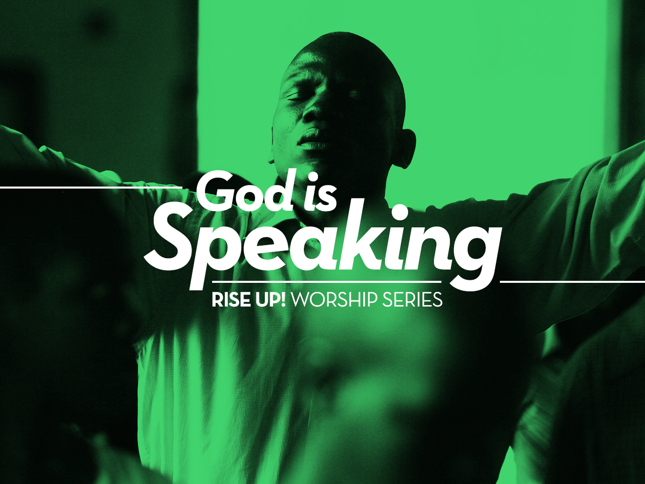 Rise Up Message Series - God is Speaking by Pastor Leo Cunningham Wesley Church of Hope United Methodist Church