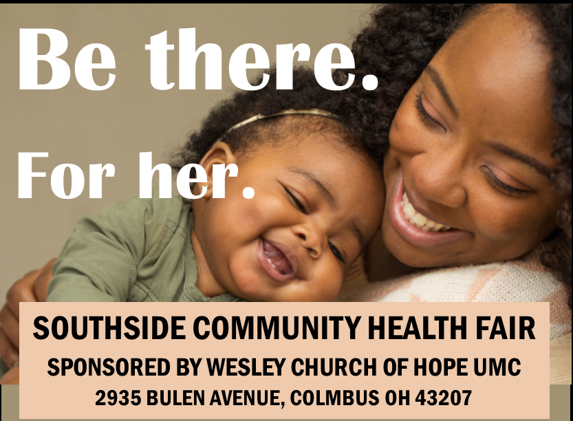 Southside Community Health Fair sponsored by Wesley Church of Hope