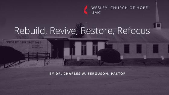 Rebuild, Revive, Restore, Refocus