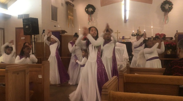 Dance Ministry performs Mary's Story