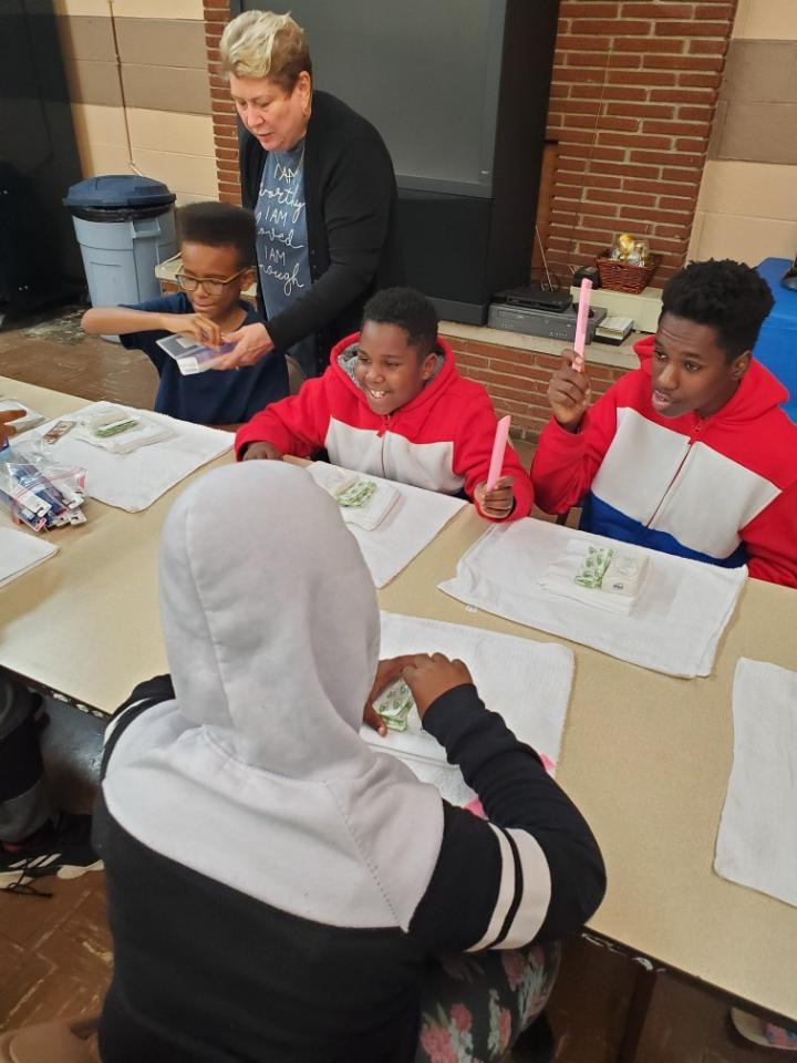 Children of Koinonia Youth Bible Study at Wesley Church of Hope