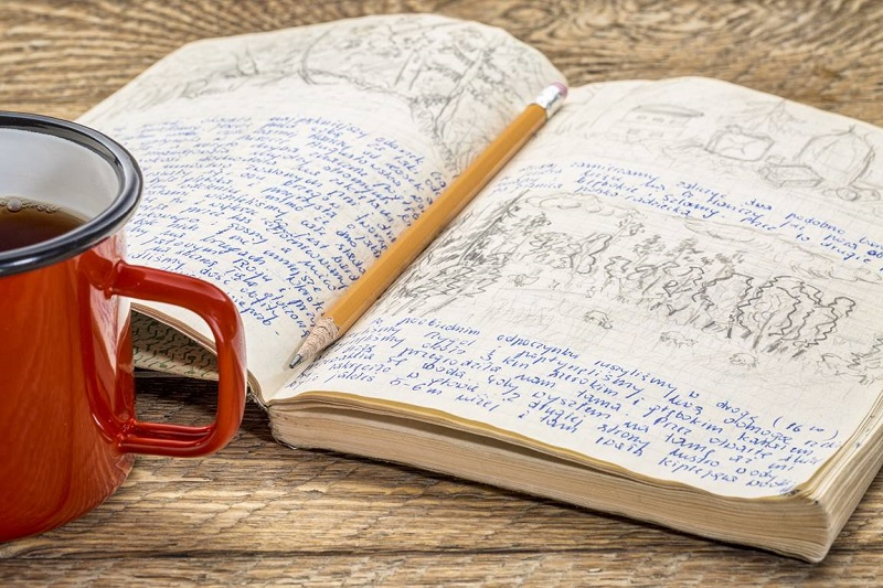 Journaling and reflection feed the soul