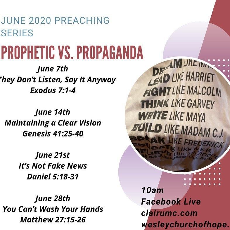 Prophetic vs Propoganda
