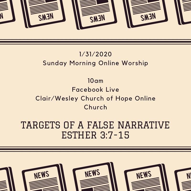 Target of a False Narrative