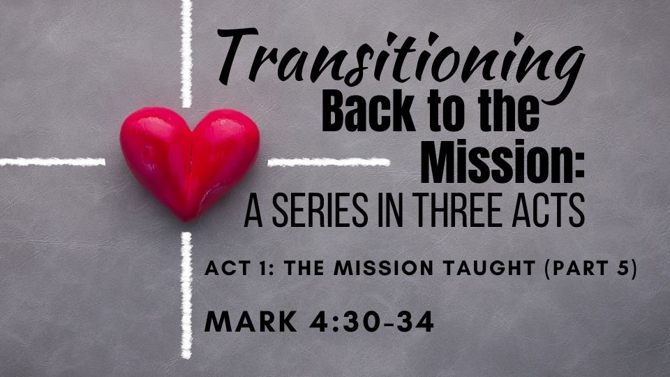 Transitioning Back to the Mission Act 1: Part 5