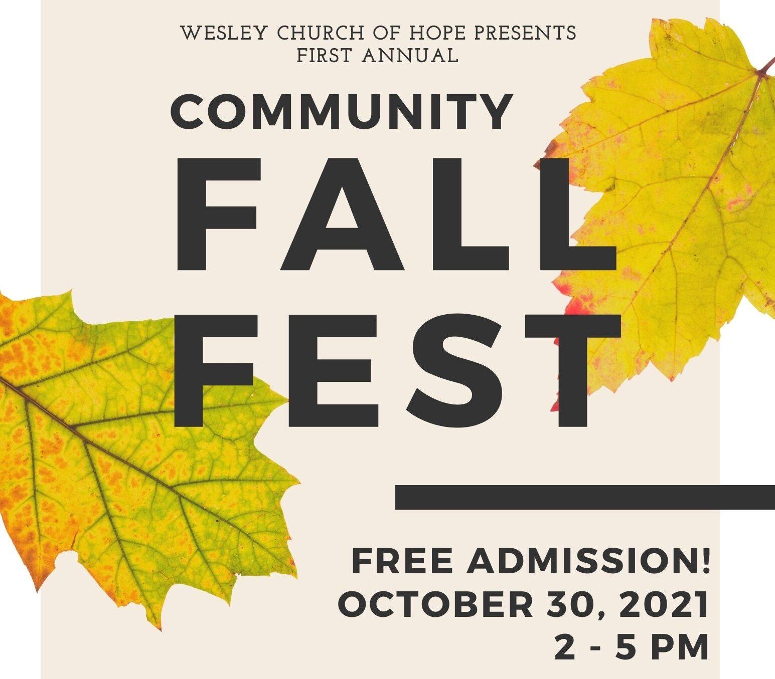 Community Fall Fest 2021